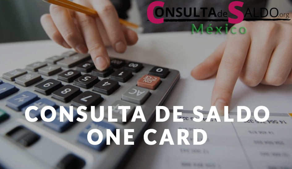 Consulta de Saldo ONE Card
