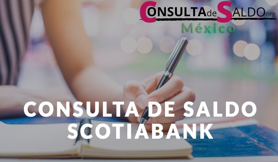 Consulta de Saldo ScotiaBank
