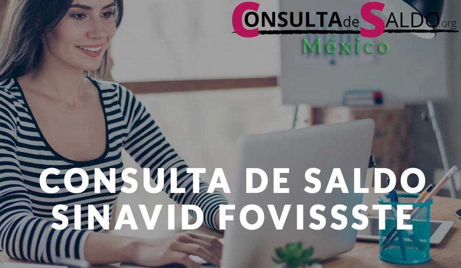 Consulta de Saldo Sinavid FOVISSSTE