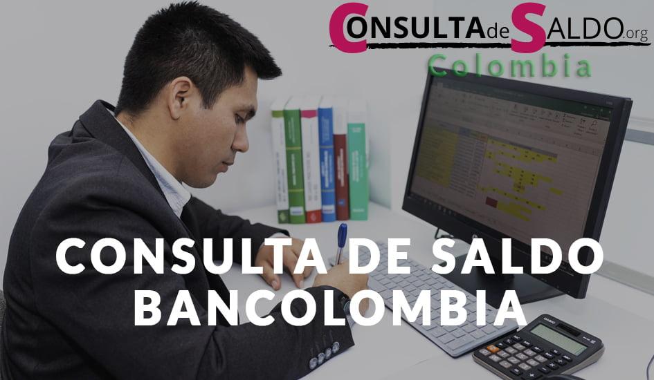 Consulta de Saldo Bancolombia