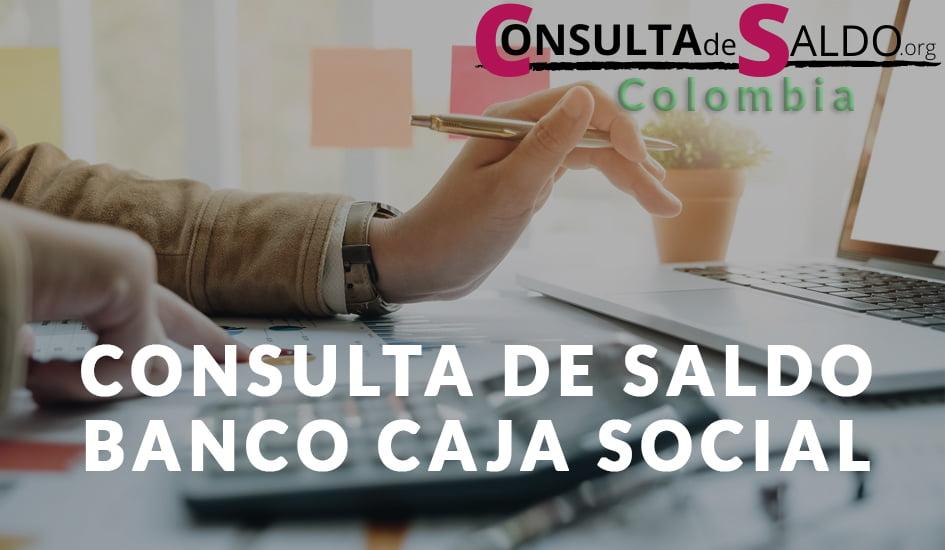 Consulta de Saldo Banco Caja Social