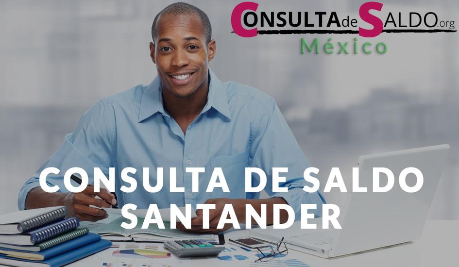 Consulta de Saldo Santander