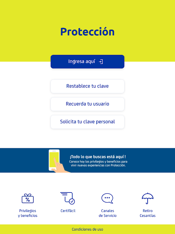 Estado de cuenta cesantias proteccion colombia