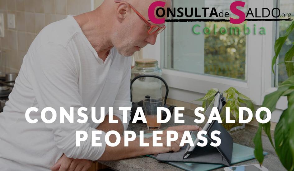 Consulta de Saldo PeoplePass