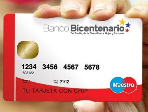 Banco Bicentenario consulta de Saldo Tarjeta de Debito