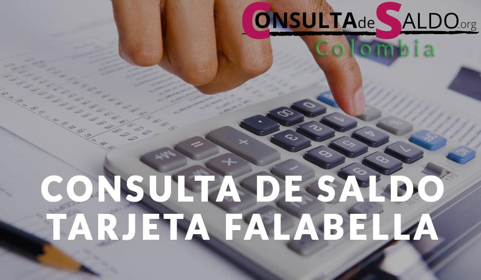 Consulta de saldo Tarjeta Falabella